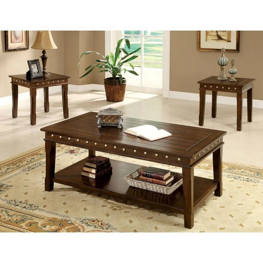 oak coffee table sets you ll love in
