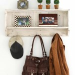 Benavides Wall Mounted Coat Rack With Hooks