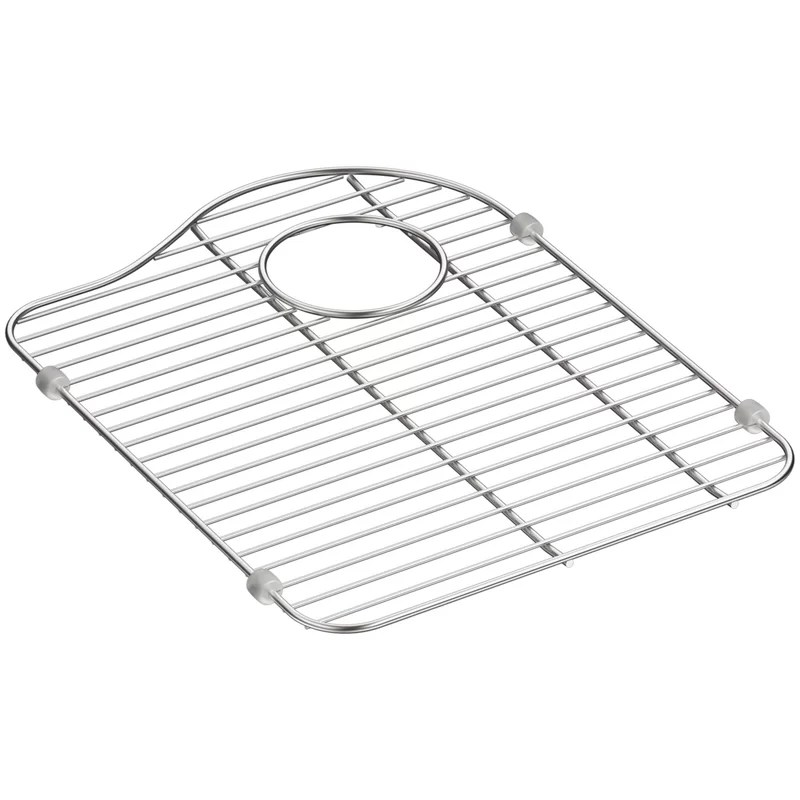 hartland stainless steel sink rack for right hand bowl