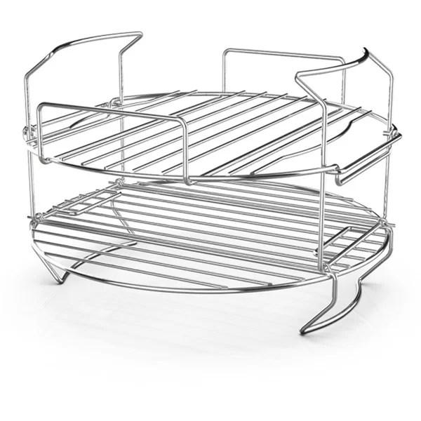 ninja 16 in stainless steel roasting rack