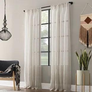 contemporary corner window curtain rod