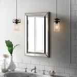 Greyleigh Weslaco Beaded Recessed Framed 1 Door Medicine Cabinet With 3 Adjustable Shelves Reviews Wayfair Ca