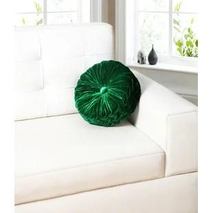 green round throw pillows you ll love