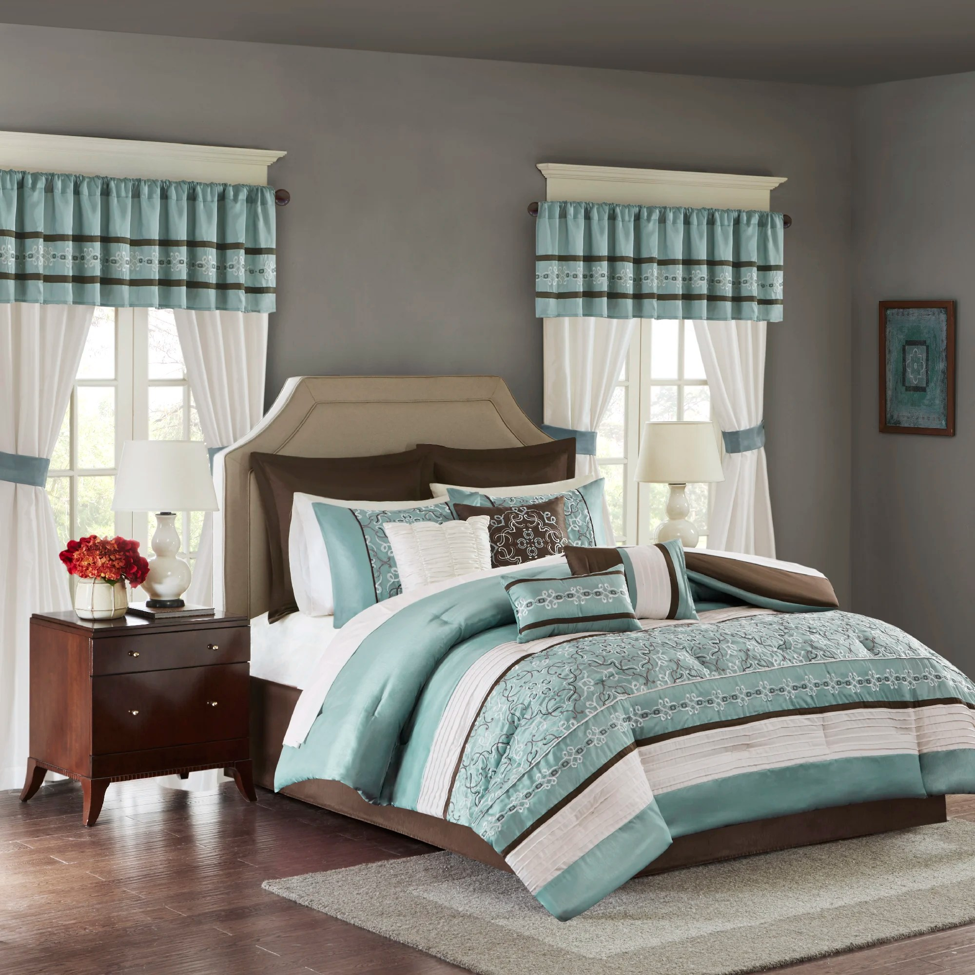 bedding sets with curtains wayfair
