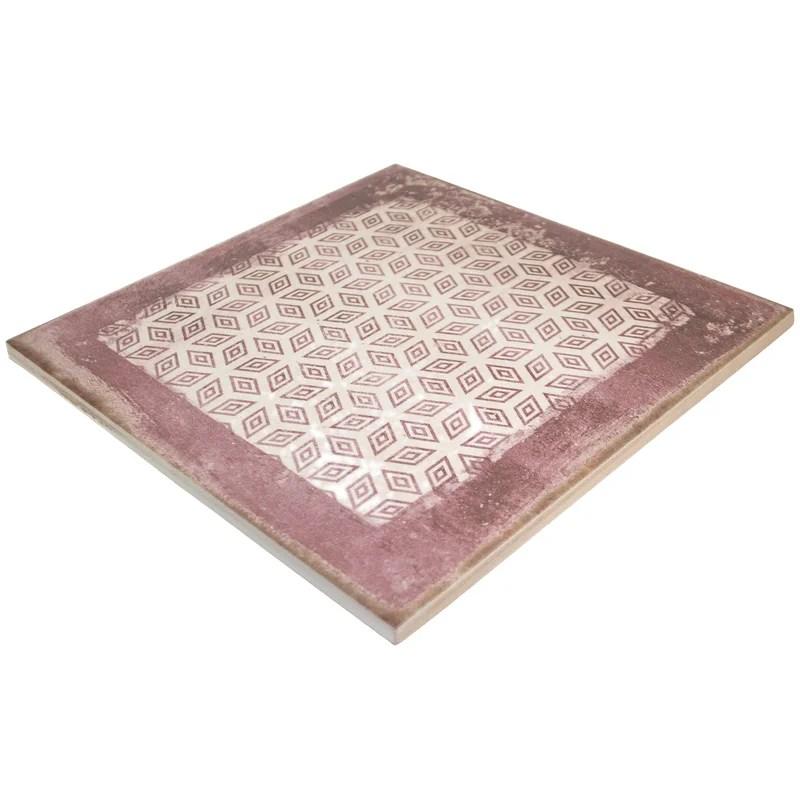 santa fe 8 x 8 porcelain spanish moroccan floor use tile