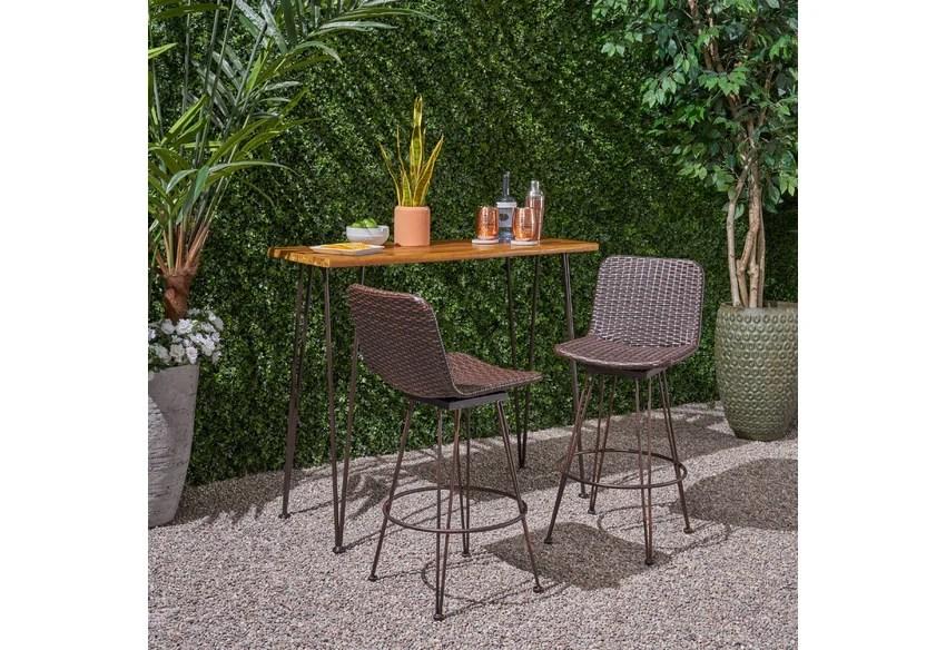 patio bar outdoor furniture you ll