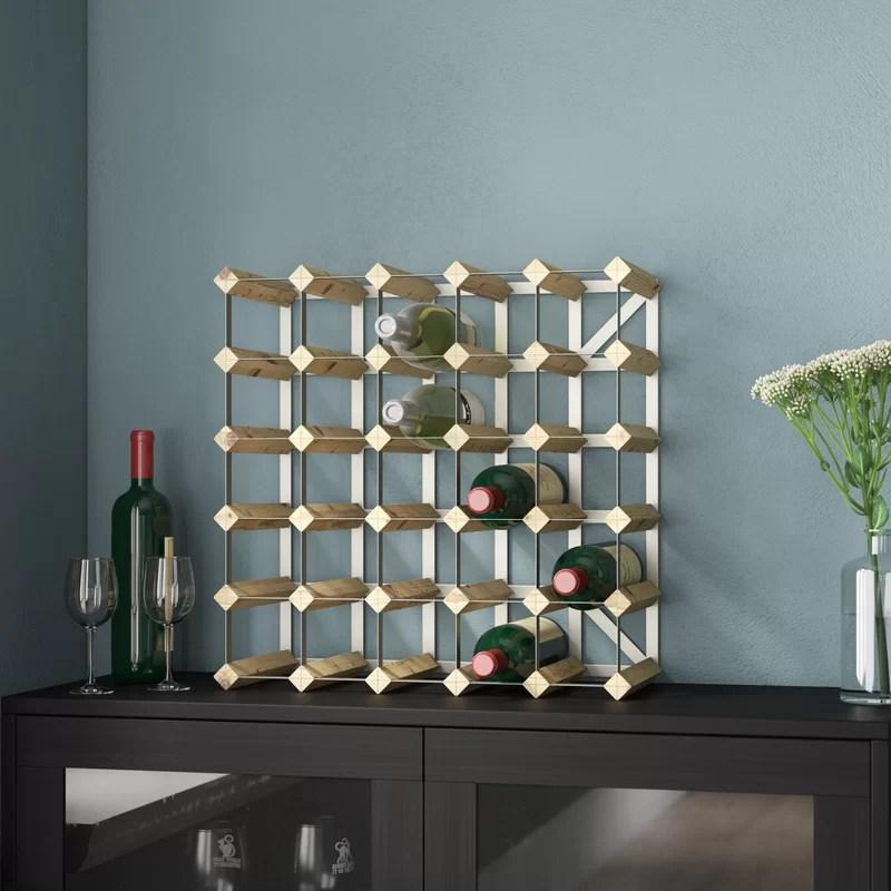 candace 30 bottle wine rack