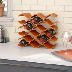 mid century modern wine racks you ll