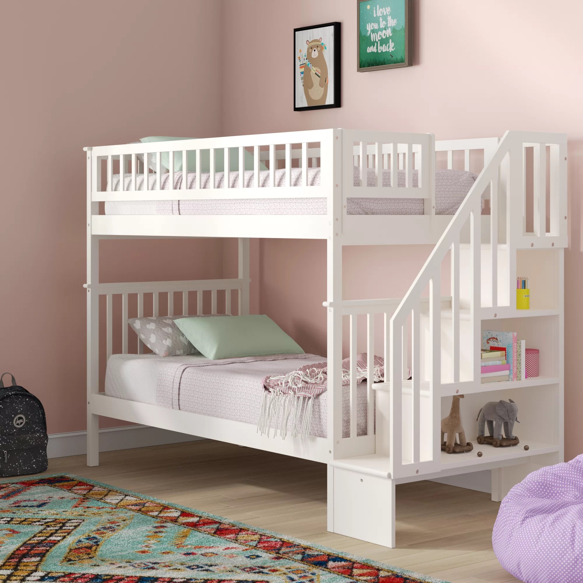 Bunk Storage Kids Beds You Ll Love In 2020 Wayfair