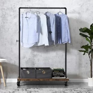 trejo 40 7 w clothes rack