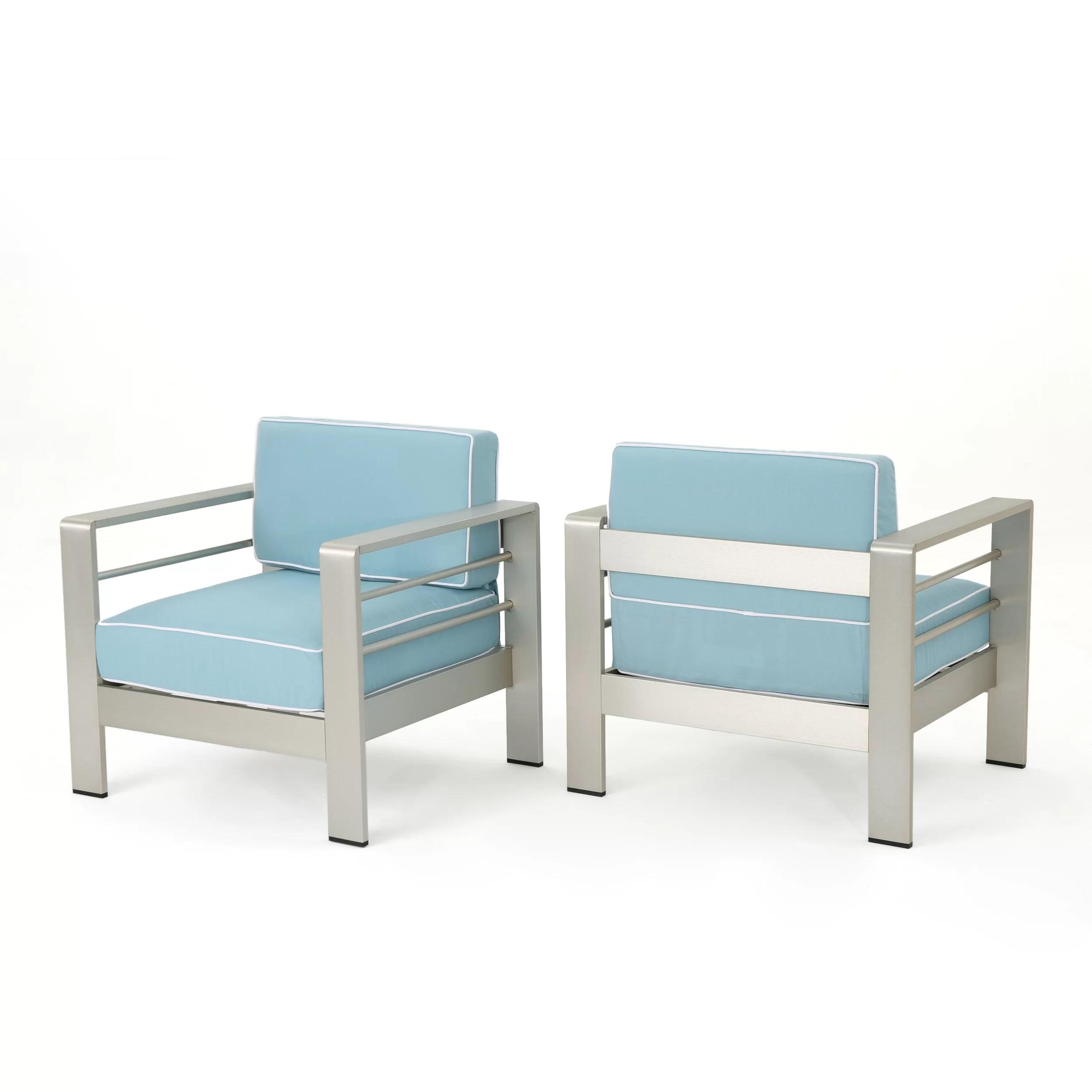 royalston aluminum patio chair