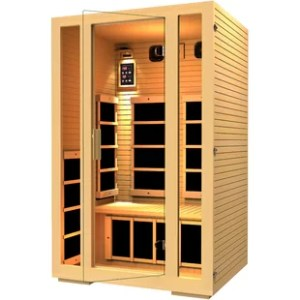 Hot Tubs   Saunas You ll Love   Wayfair Joyous 2 Person FAR Infrared Sauna