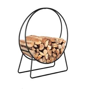 rannie steel round firewood log rack