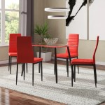 Orren Ellis Linette 5 Piece Dining Table Set Reviews