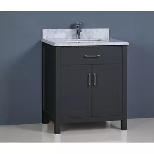 modern 30 inch bathroom vanities | allmodern