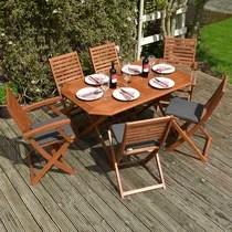 https www wayfair co uk garden sb1 wood garden dining sets c1823604 a2922 308785 html