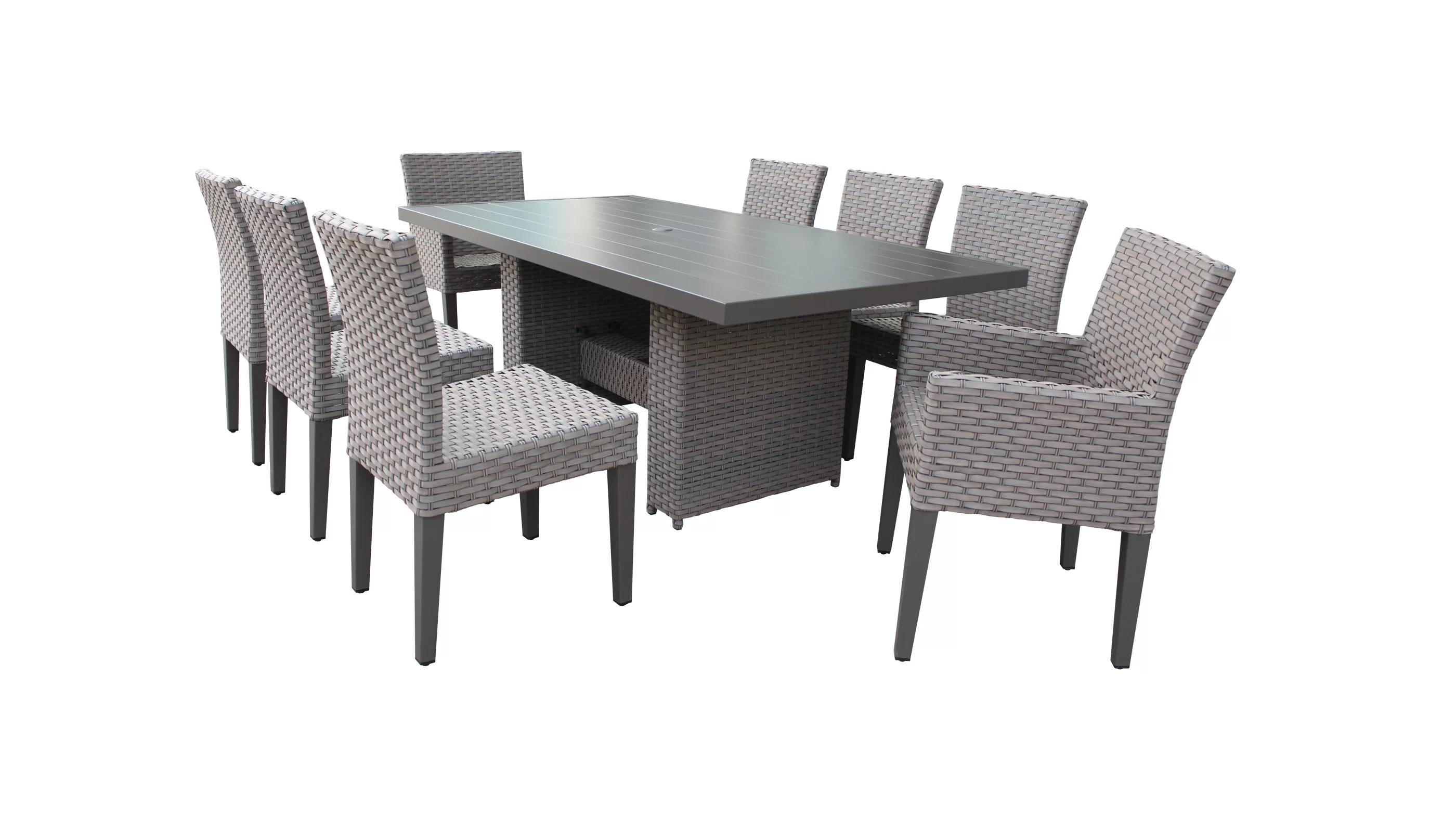 kenwick rectangular 6 person 79 long dining set