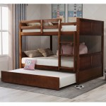 Harriet Bee Partin Full Over Full Bunk Bed With Trundle Wayfair