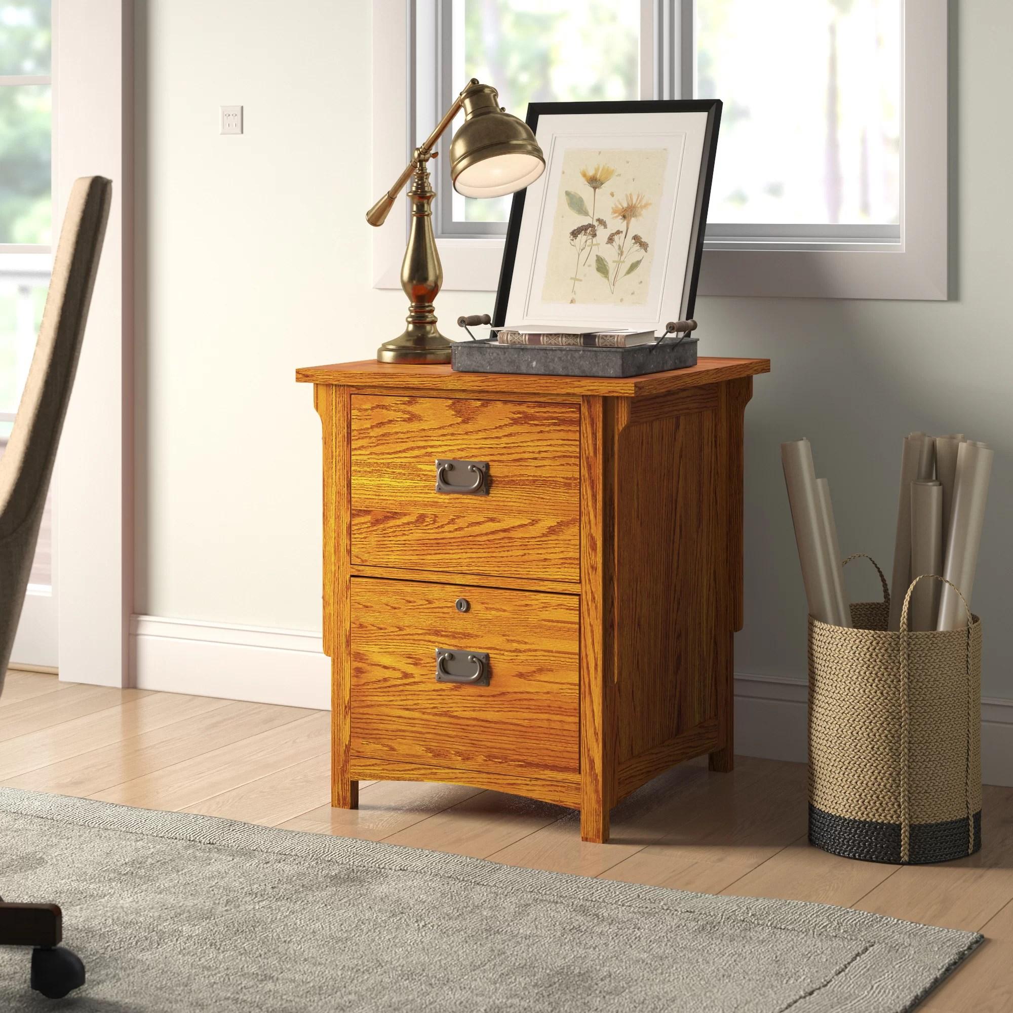 Loon Peak Fort Kent 2 Drawer Vertical Filing Cabinet