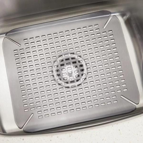 kitchen corner sink mat