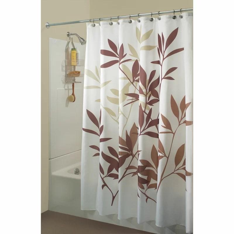 lantz floral single shower curtain