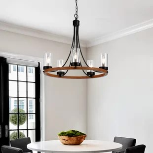 farmhouse chandeliers you ll love in