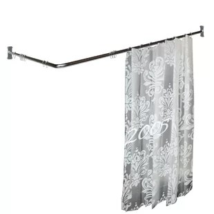 l shaped shower rods you ll love in