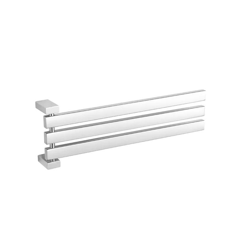 enzo adjustable swing arm wall mounted towel bar