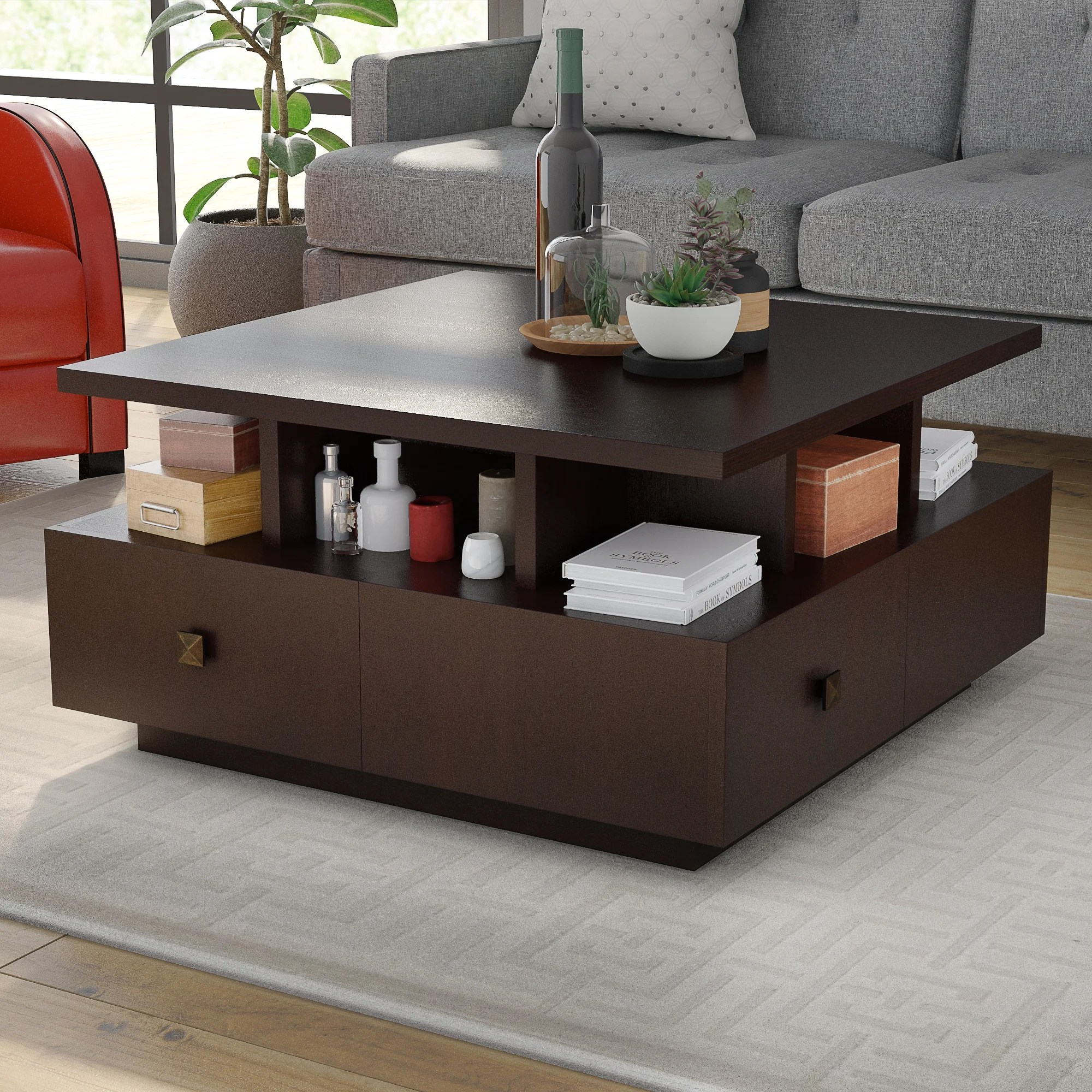 coffee tables with drawers you ll love