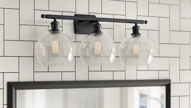 Extended Cyber Monday Sale On Bathroom Vanity Lighting Light Fixtures Wayfair