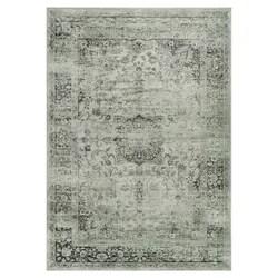 Teppich in Lila / Grau