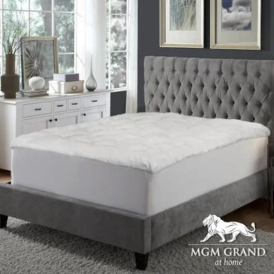 Mgm Grand At Home Mink 3 Down Alternative Mattress Pad Reviews Wayfair