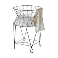 Kindwer Vintage Wire Laundry Hamper