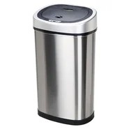 13.2 Gallon Motion Sensor Stainless Steel Trash Can