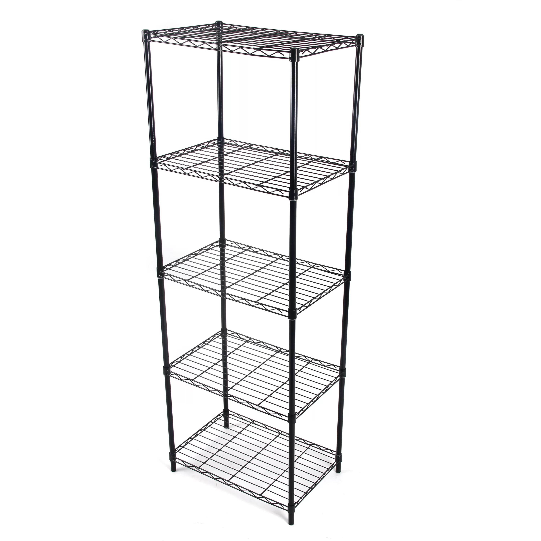 Gold Sparrow Wire 61 02 Five Shelf Shelving Unit