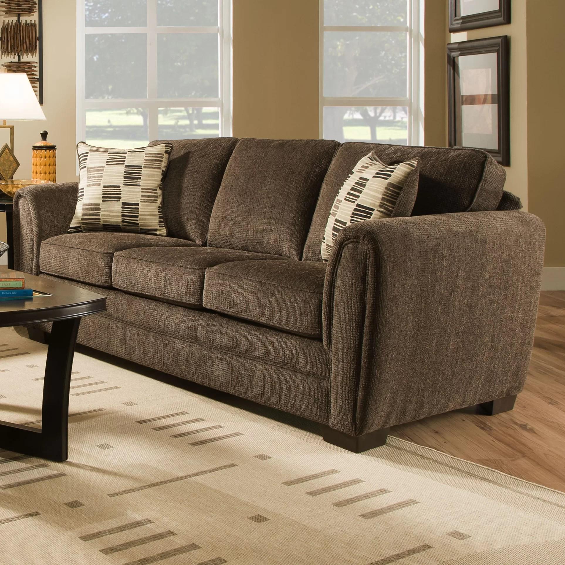 simmons upholstery lucas hide a bed sleeper sofa reviews wayfair