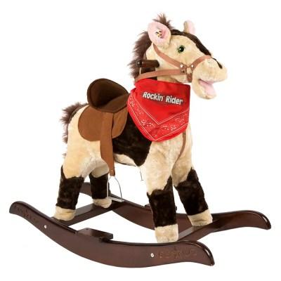 Plush singing Rocking Horse
