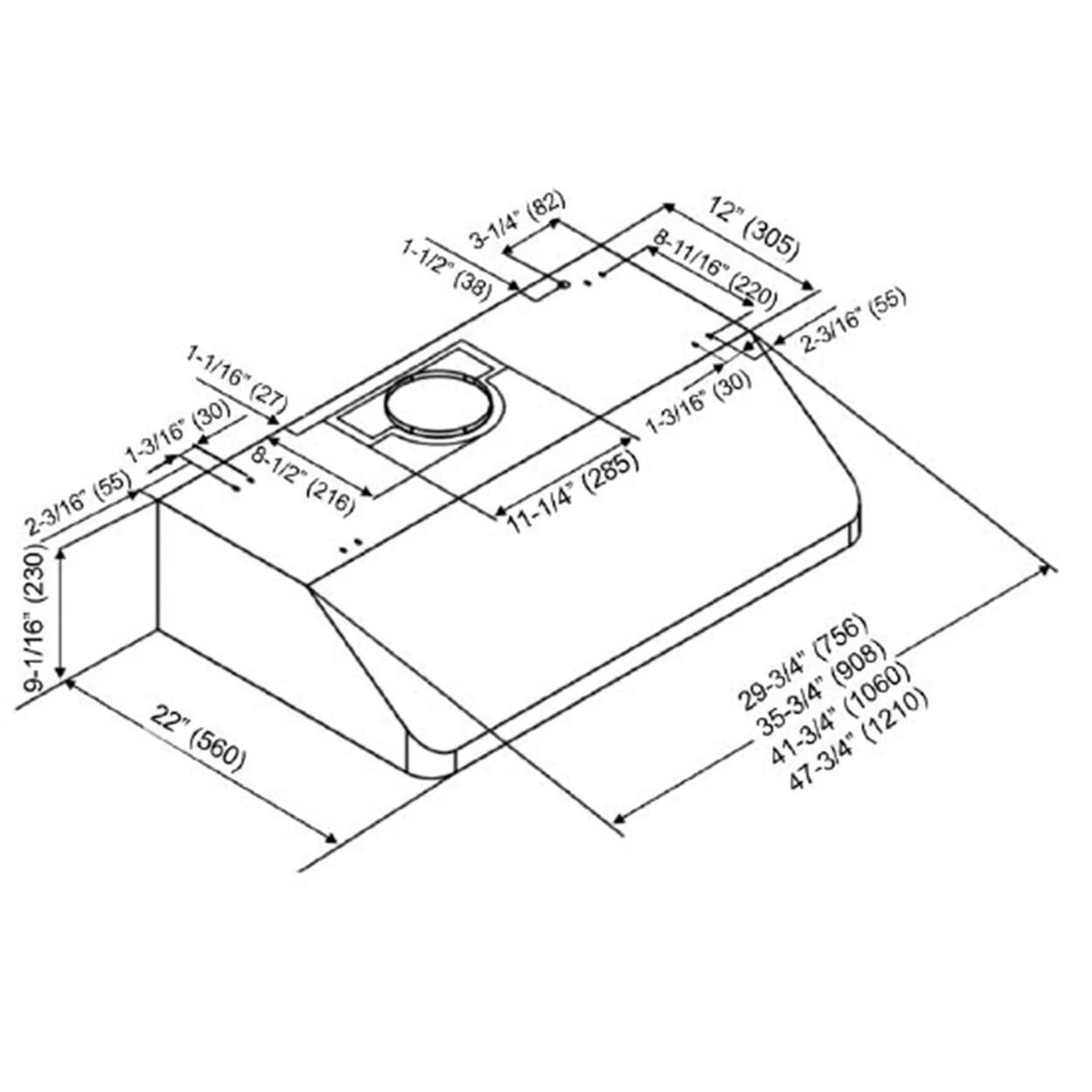 Kobe Range Hoods Deluxe 36 650 CFM Under Cabinet Range Hood?resize=665%2C665&ssl=1 wiring diagram for bathroom fan wiring diagram,Bathroom Lights And Wiring Diagram For Vent