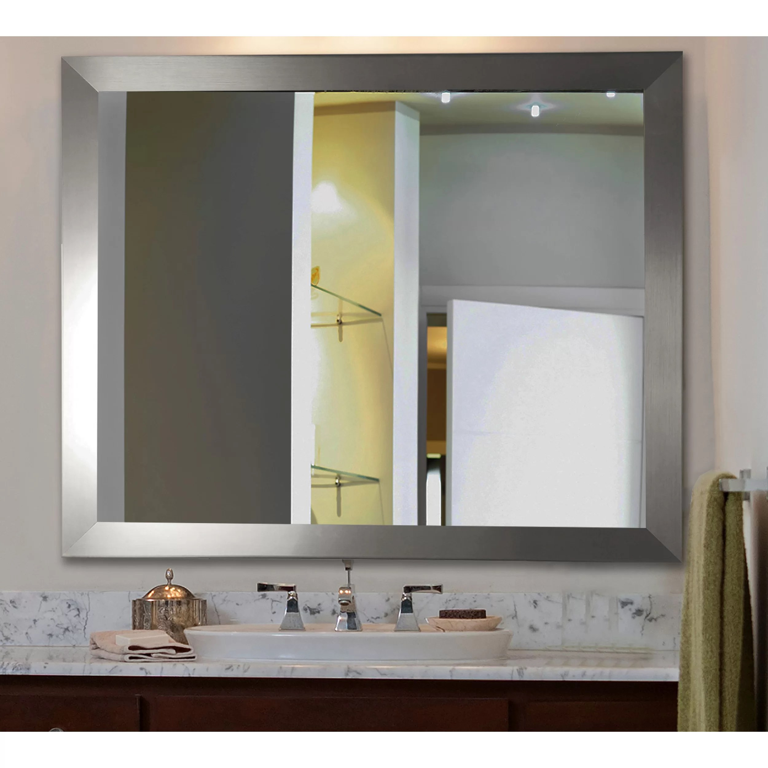 Rayne Mirrors Ava Modern Wall Mirror Amp Reviews Wayfair