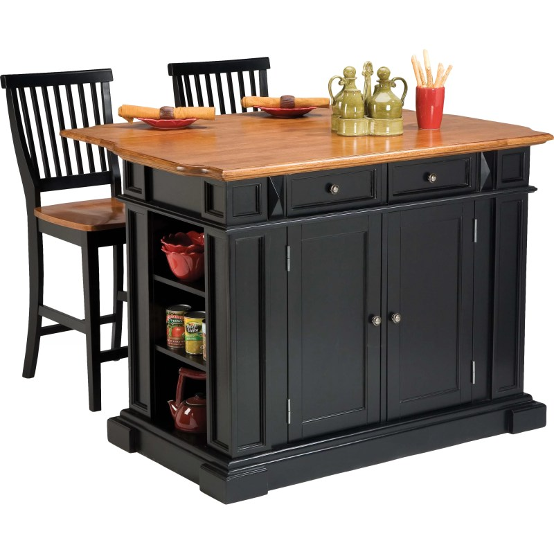 3 Piece Kitchen Island Set