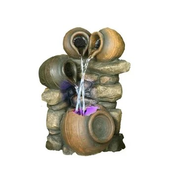Hi Line Gift Ltd Fiber And Resin Pour Into One Fountain