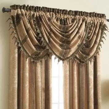 Croscill Marquis 24 Curtain Valance Amp Reviews Wayfair