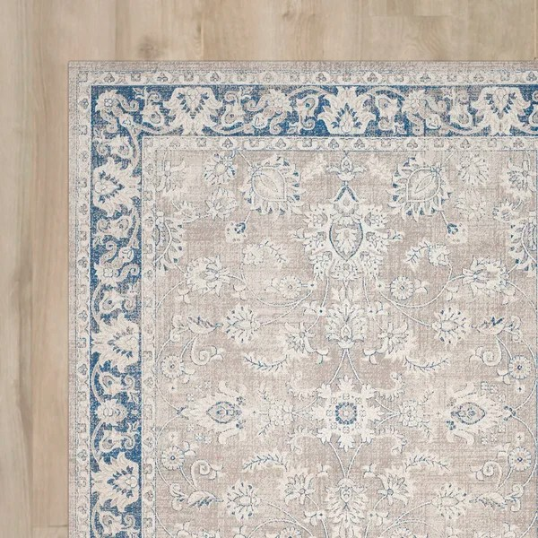 Cecily Rug In Taupe Amp Blue Amp Reviews Joss Amp Main