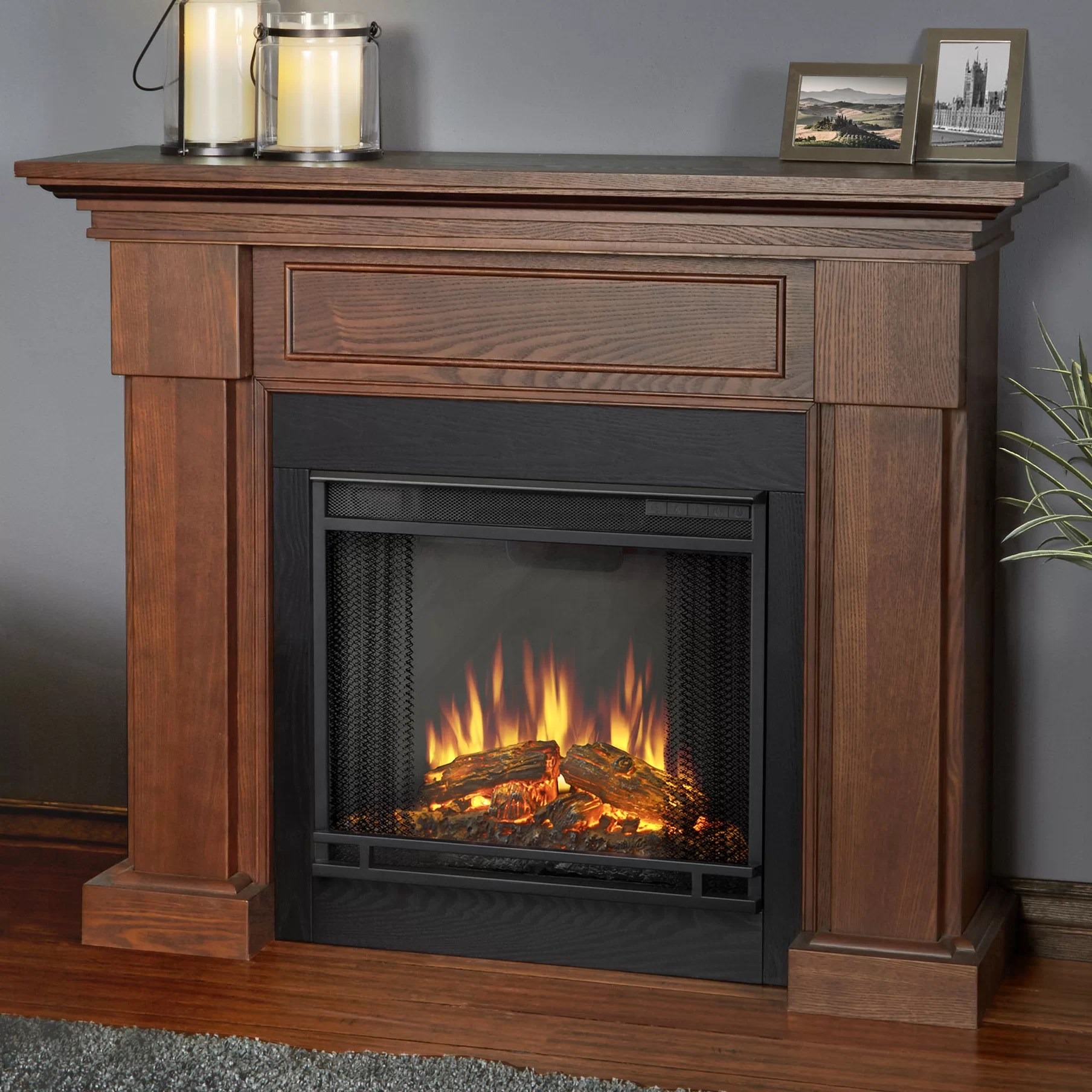 Real Flame Hillcrest Electric Fireplace Amp Reviews