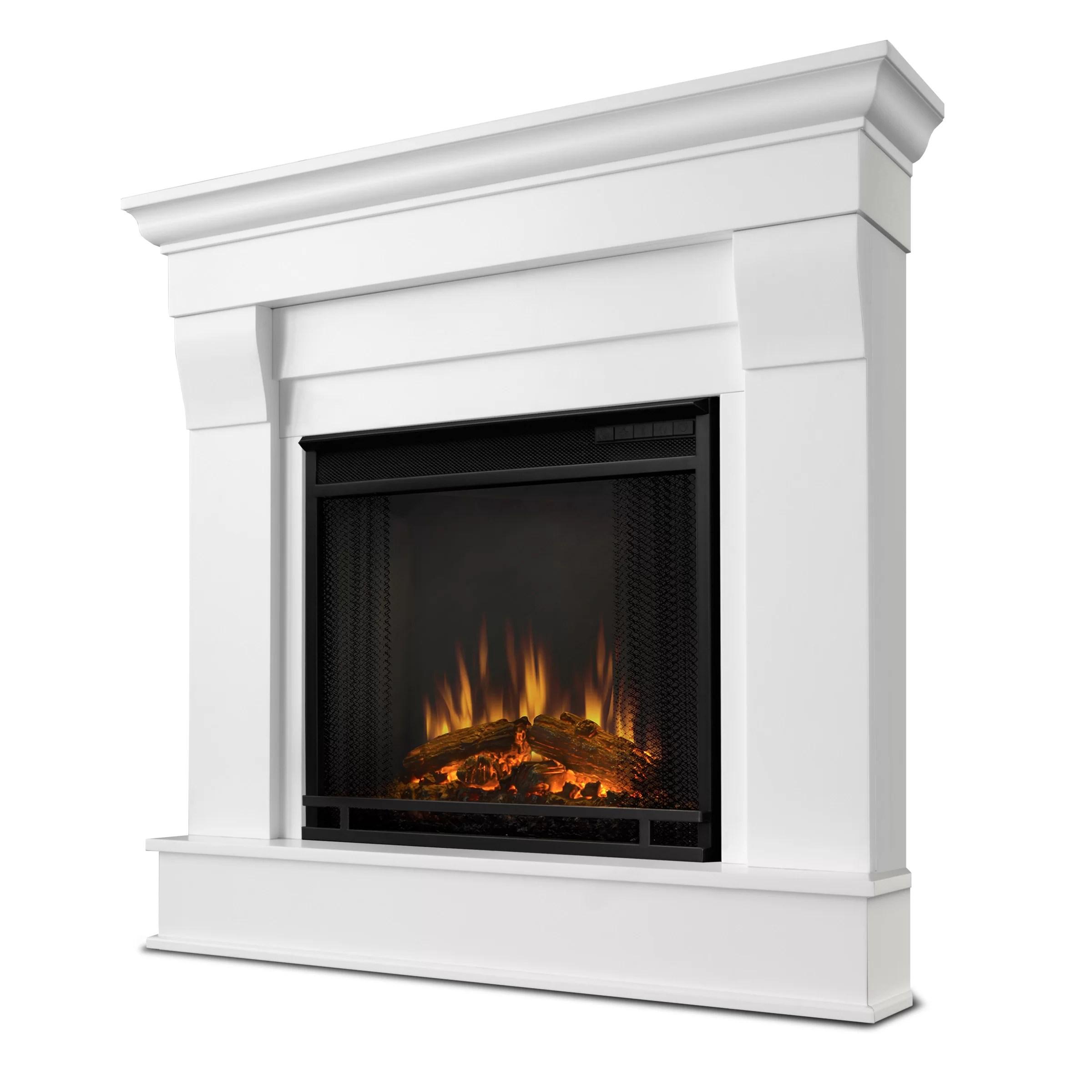 title | Electric Corner Fireplace