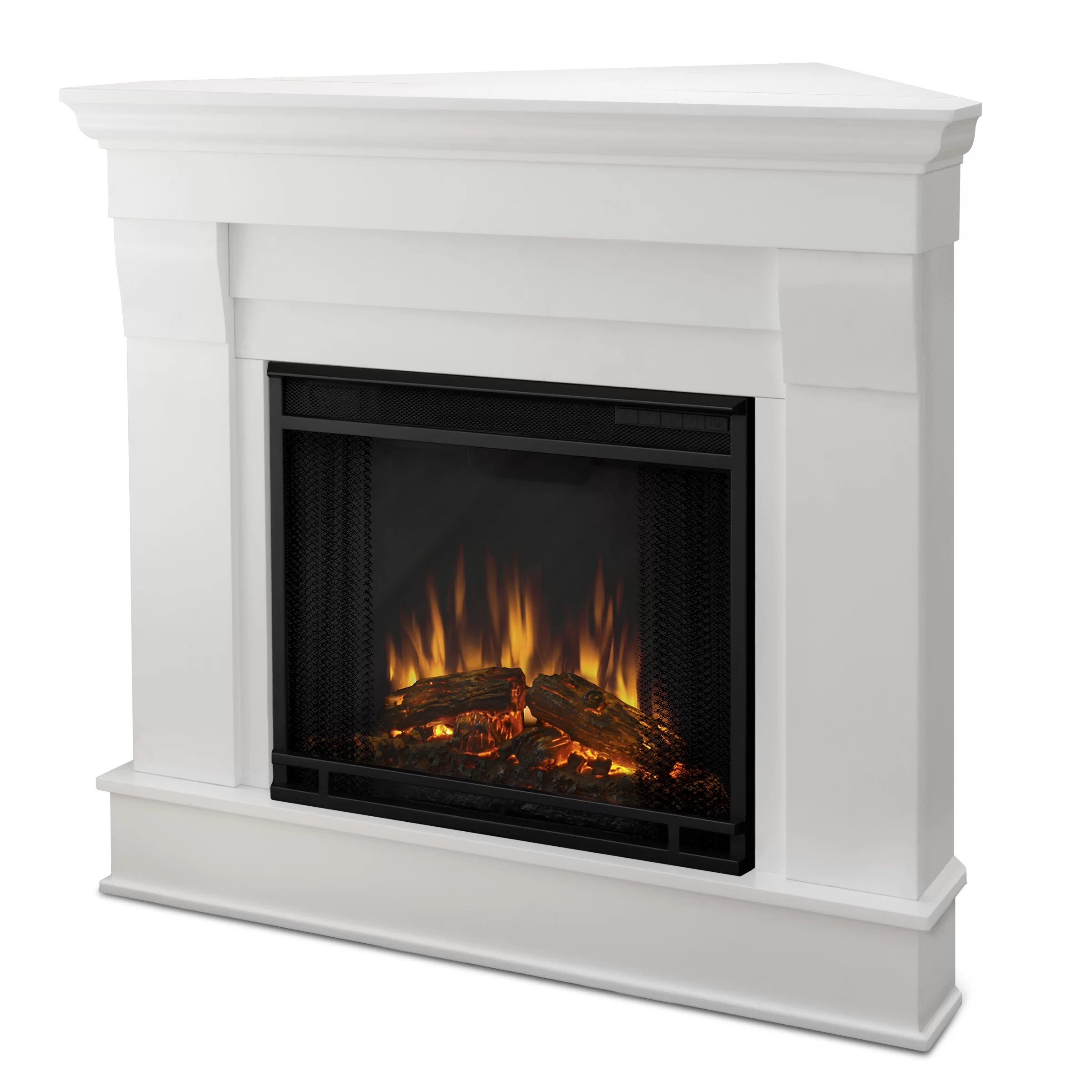 Real Flame Chateau Corner Electric Fireplace Amp Reviews