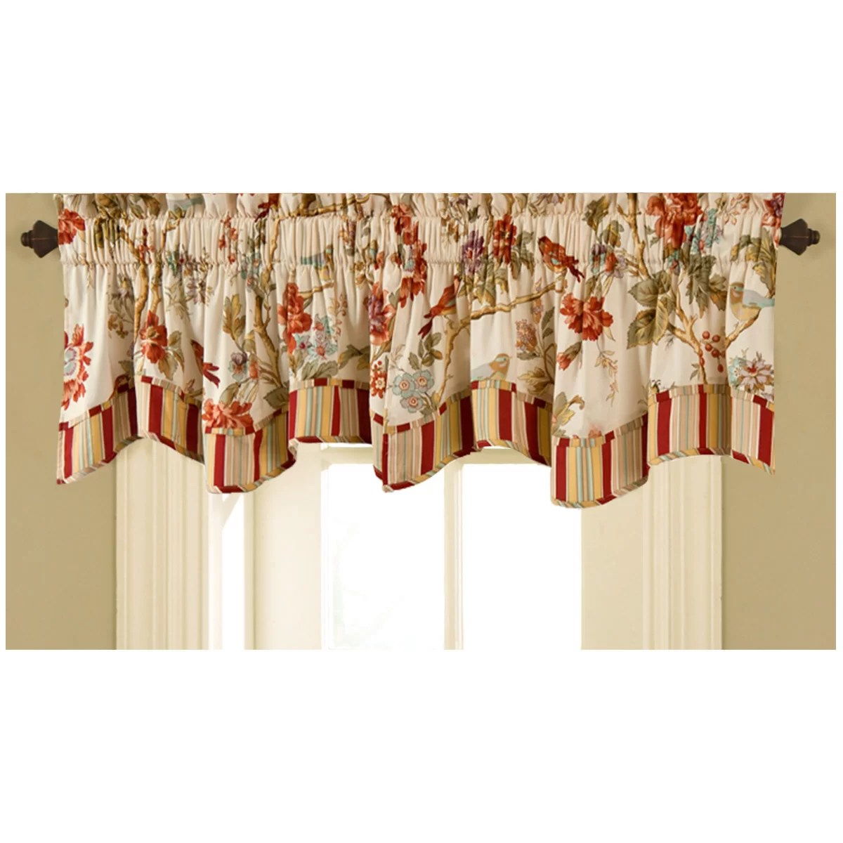 Waverly Charleston Chirp 50 Curtain Valance Amp Reviews