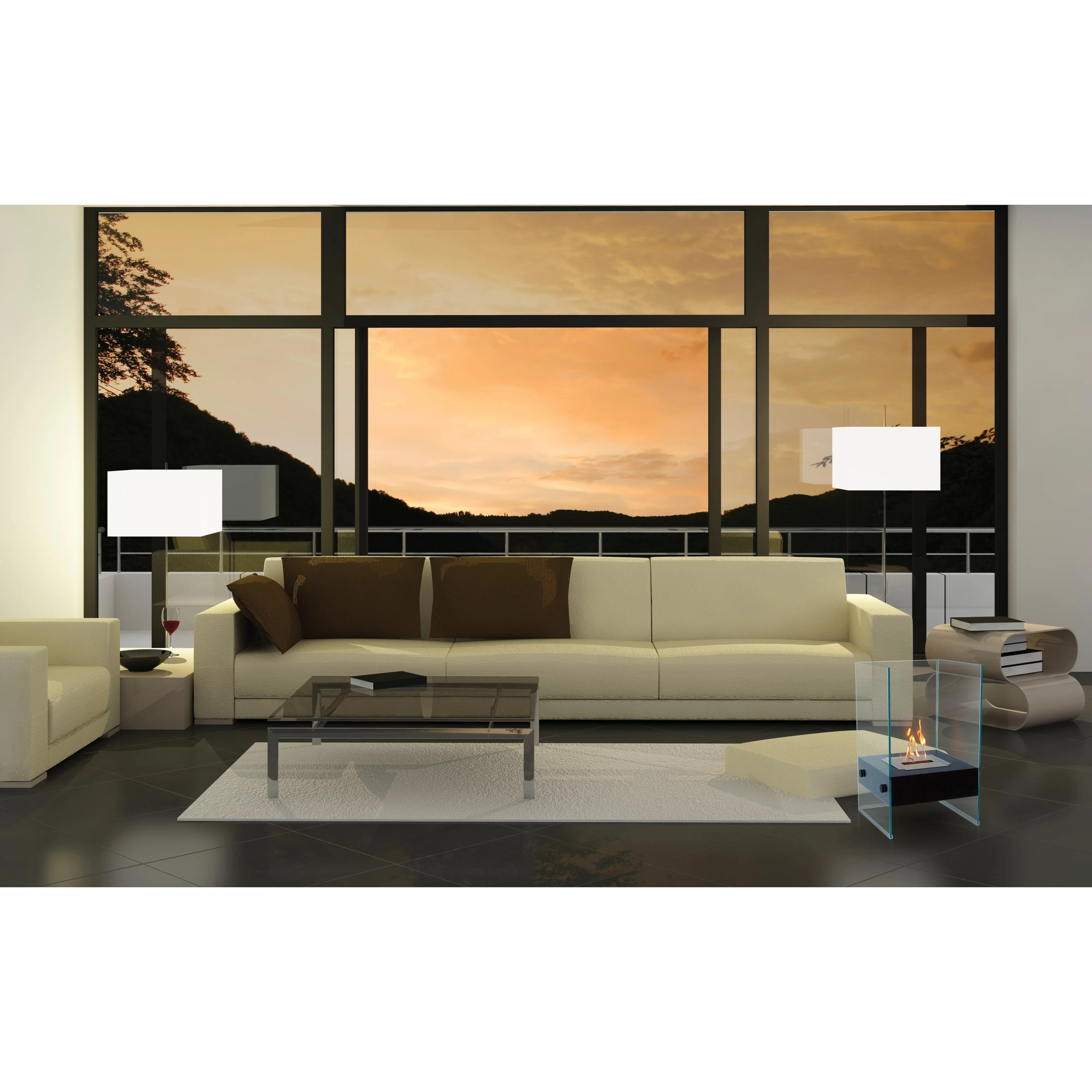Anywhere Fireplaces Hudson Indoor Outdoor Fireplace