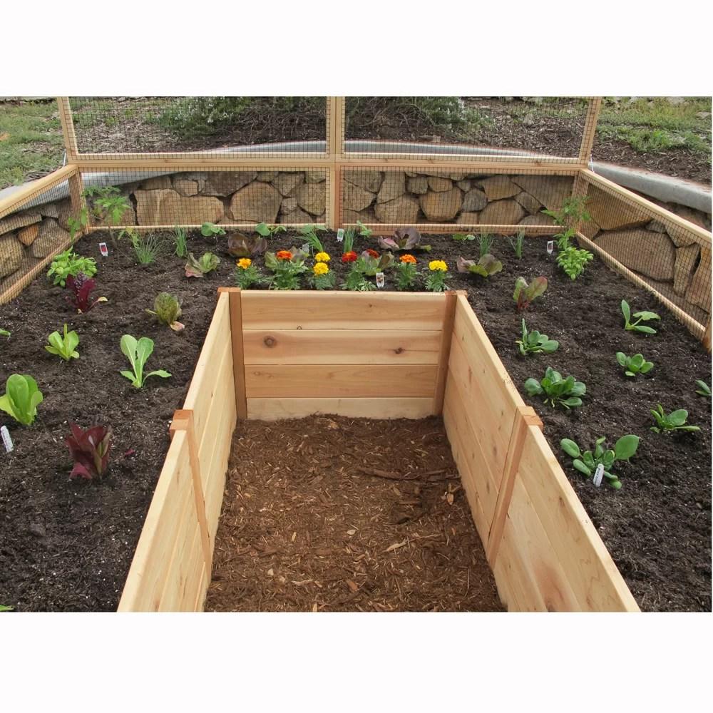 Outdoor Living Today Rectangular Raised Garden | Wayfair on Garden And Outdoor Living  id=64311