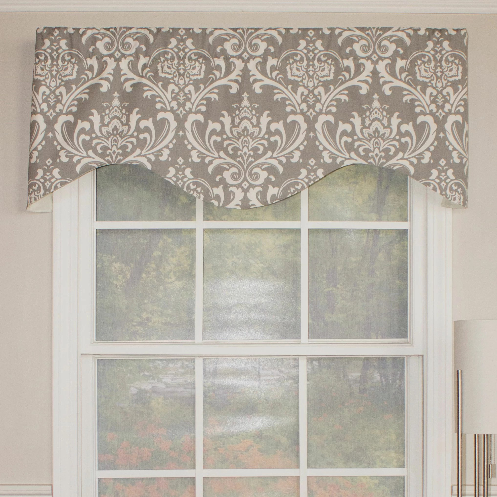 Rlf Home Royal Damask Cornice 50 Curtain Valance
